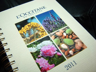 L'occitane en Provence 2011 Diary for Charity 1