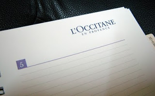 L'occitane en Provence 2011 Diary for Charity 3