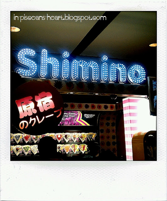 Shimino Japanese Crepes @ IPC Shopping Centre 1