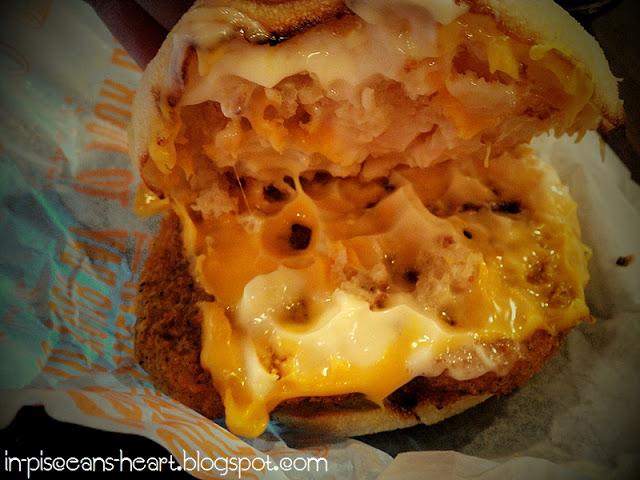 McDonald's Chicken Nugget Burger (Breakfast) 2