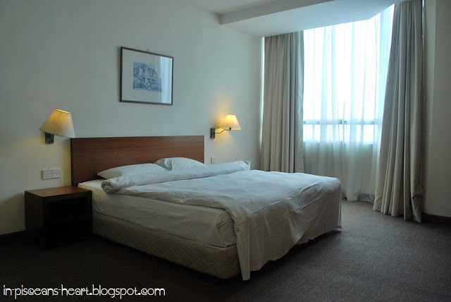 Master bedroom with 1 King Sized Bed