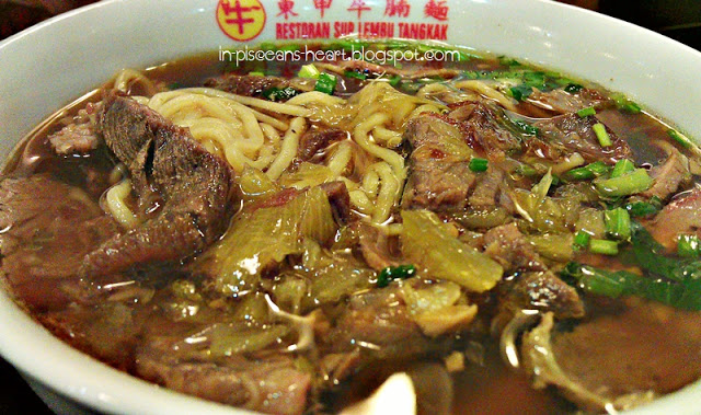 Food Review: Tangkak Beef Noodles (东甲牛腩面) @ Maluri, Cheras 6