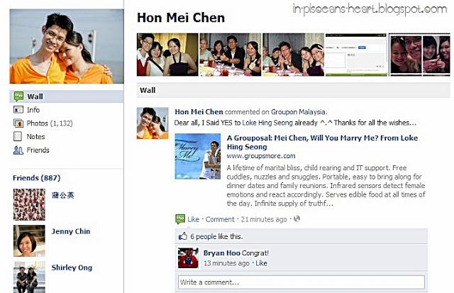 A Grouposal: Mei Chen, Will You Marry Me? From Loke Hing Seong 7
