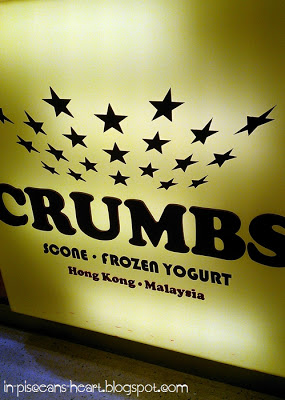 Frozen Yogurt @ Crumbs, Pavilion 1
