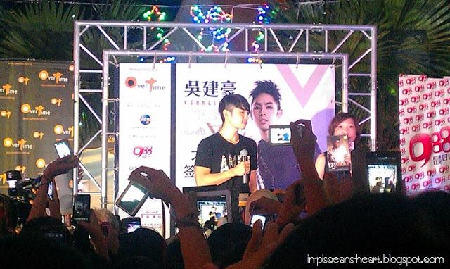 Vanness Wu 吳建豪 C'est la V Promo Tour 2011 @ Overtime Rivercity, Jalan Ipoh 4