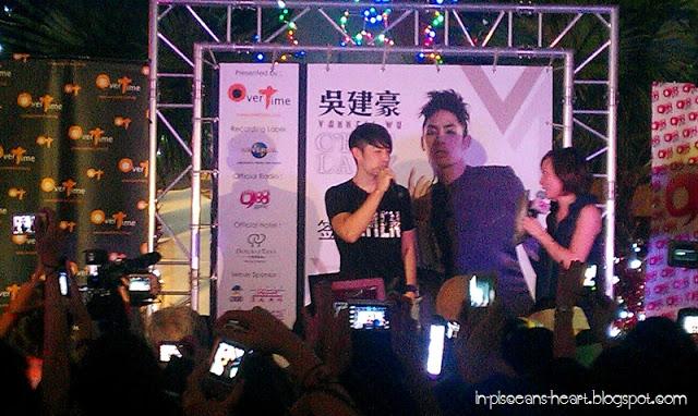 Vanness Wu 吳建豪 C'est la V Promo Tour 2011 @ Overtime Rivercity, Jalan Ipoh 5