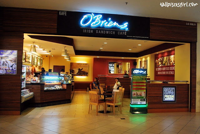 Food Review: O'Briens Irish Sandwich Cafe @ Mid Valley Megamall 1