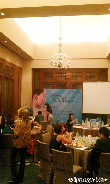 Physiogel Bloggers Workshop @ Le Meridien KL 2