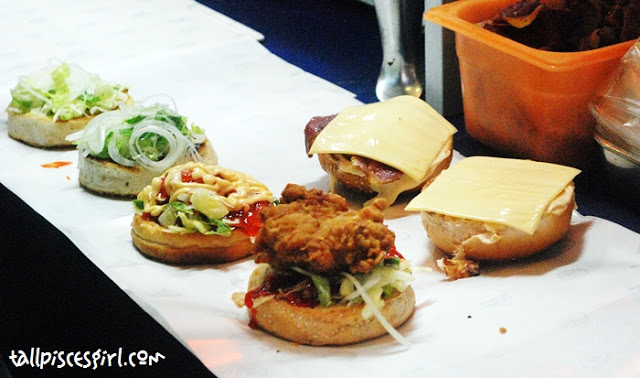 Which Kaw Kaw Burger Bakar do you want sir? :D