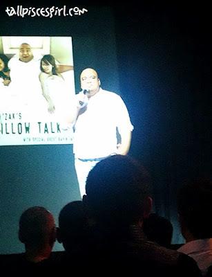 Experiencing LAUGH FEST 2012: Papi Zak's PILLOW TALK 2