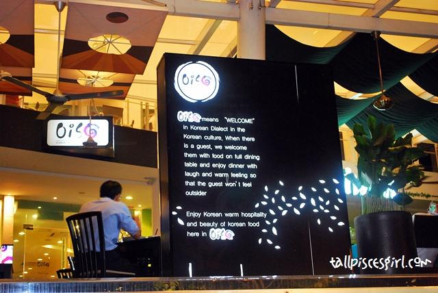 Oiso Korean Traditional Cuisine & Café @ The Sphere Bangsar South 14
