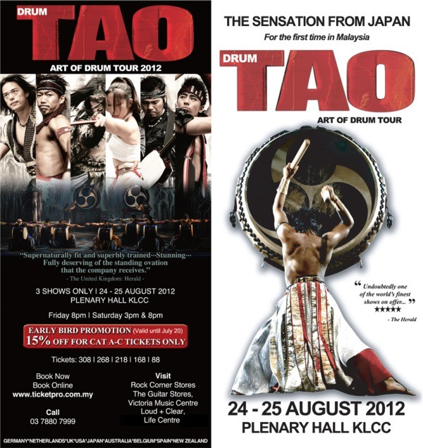 Drum Tao - Art of Drum Tour 2012 in Malaysia 7
