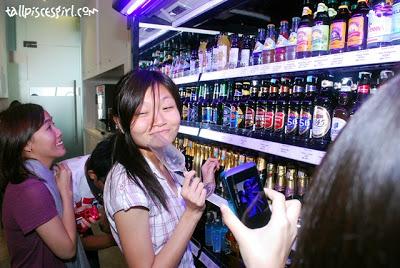 Already drunk before drinking?!