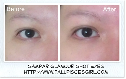 Product Review: Sampar Glamour Shot Yeux 3