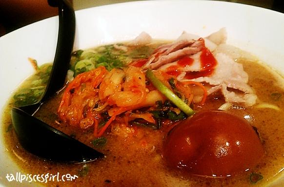 Pork Kimuchi Ramen (RM 19.80)