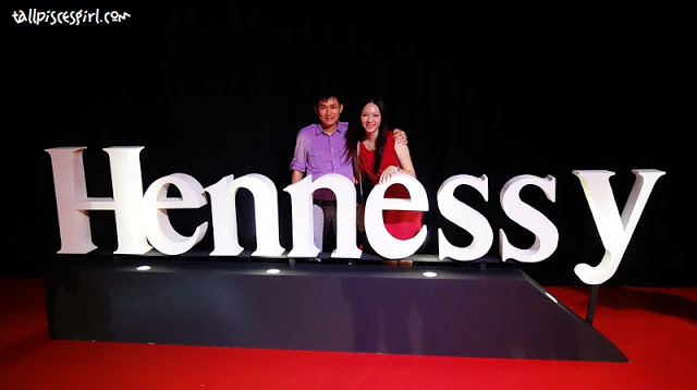 My darling and I at Hennessy Artistry