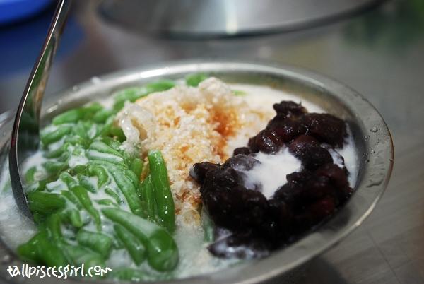 Cendol with Gula Melaka