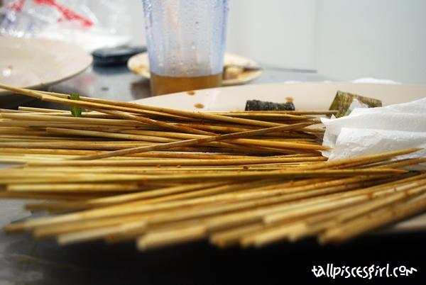 5 person ate 95 sticks!