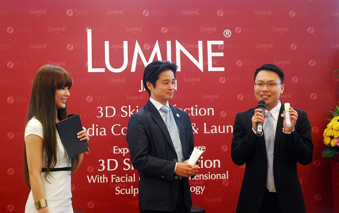 LUMINE Japan Launch in Malaysia @ Zang Toi Cafe 1