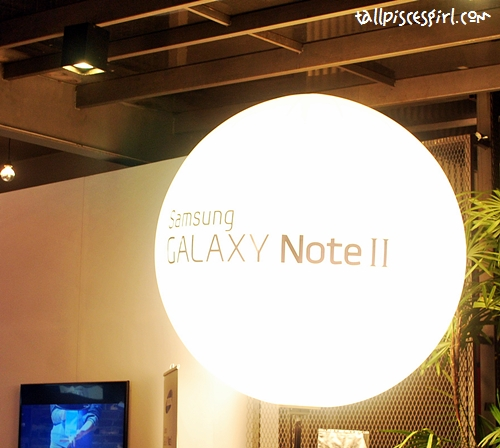 Samsung Galaxy Note II Launch in Malaysia 1