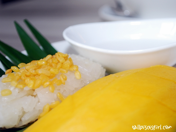 Mango Sticky Rice topped with Coconut Milk (RM 11.00)