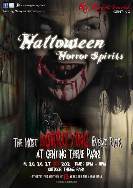 Halloween Horror Spirits Poster
