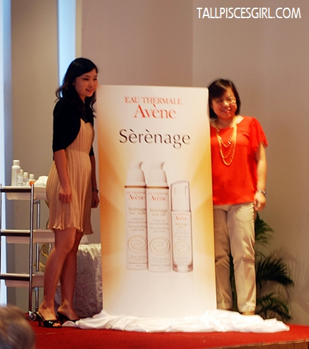 Launching of Avène Sérénage