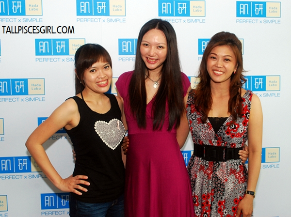 Sharon, yours truly and Kelly Chin