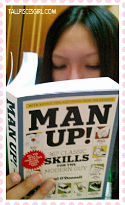 Since bf doesn't wanna read, I read and be a man lor