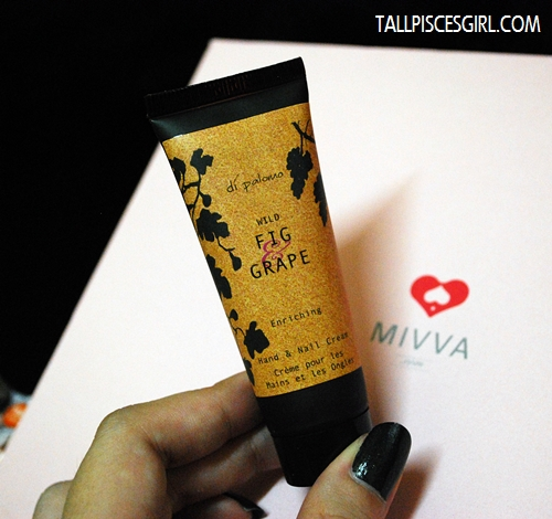 MIVVA Beauty Box: Di Palomo Wild Fig Grape Enriching Hand & Nail Cream