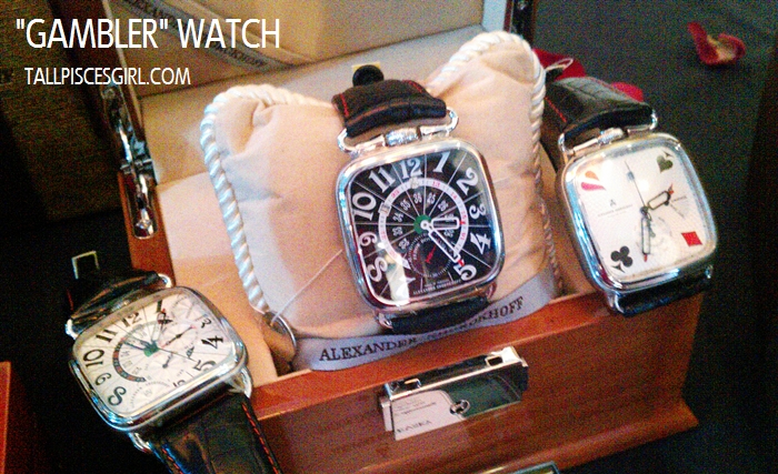 Alexander Shorokoff: Gambler watch collection