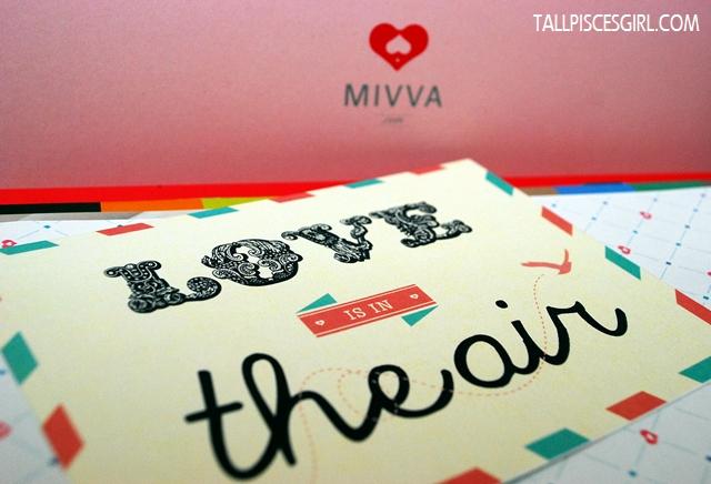 MIVVA Beauty Box February 2013 (Valentine's Edition)