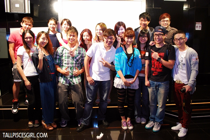 Bloggers, Sin Chew gang and Yuki Wong group photo