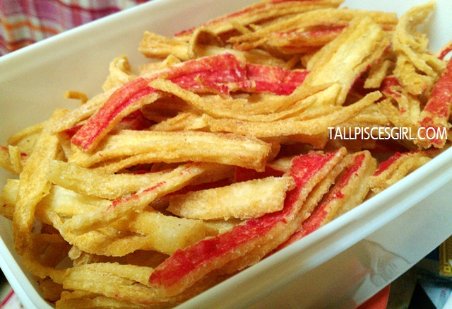 Fried crabsticks