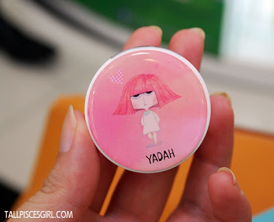 Most popular Yadah Lip Tint Balm color: Shiny Peach (RM 25 each)