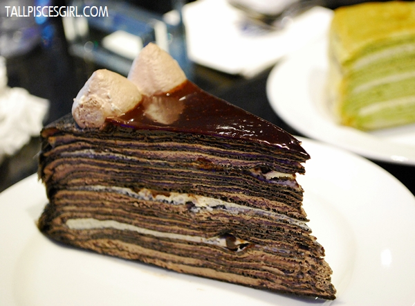 Double Chocolate Mille Crepe Price: RM 9.50