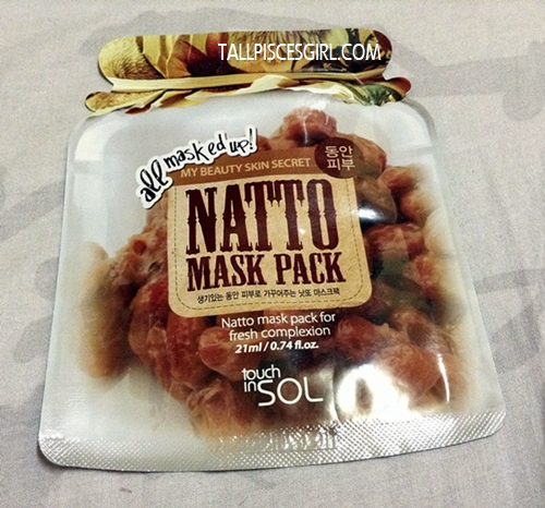 Touch In Sol Natto Mask Pack