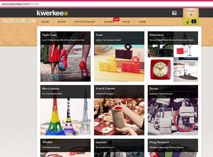 Shopping time at Kwerkee!
