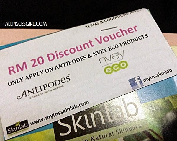Nature's Lab RM 20 discount voucher