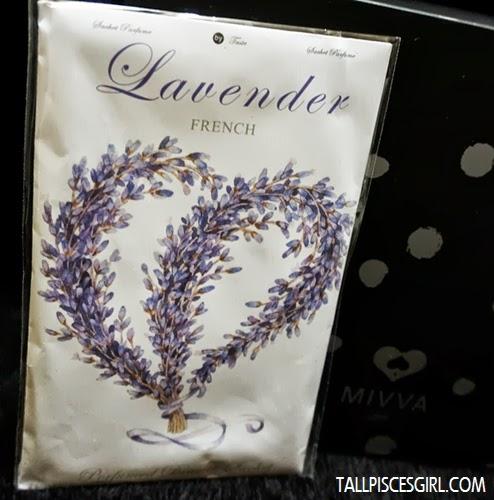 Lavender French Perfumed Drawer Sachet