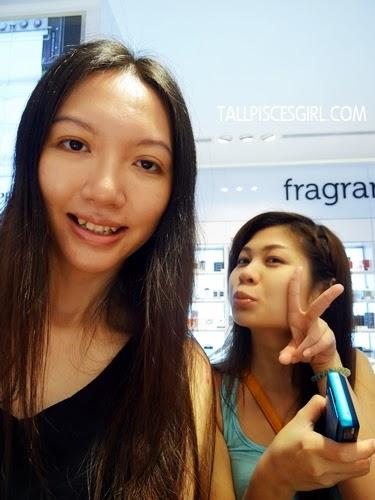 Kahmon and I before makeup