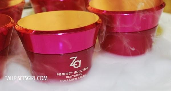 Za Perfect Solution Restoring Collagen Cream