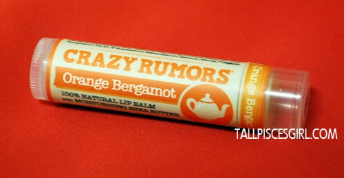 Crazy Rumors Lip Balm (Orange Bergamot)