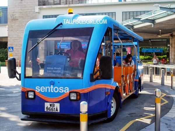 Sentosa Beach Tram