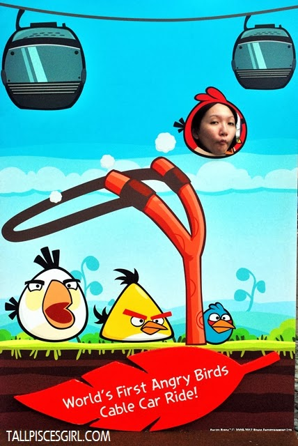 Haih cannot show off... I became an angry bird