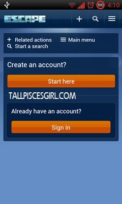 ESCnow: Sign in to ESCnow app or register via mobile