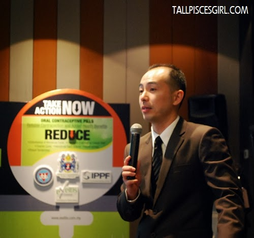 Mr. Andy Siow, Managing Director of Exeltis Pharma Sdn. Bhd.