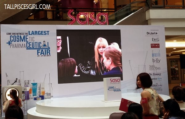 SaSa Cosmeceutical Fair 2013