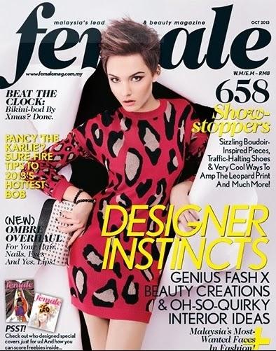 Female magazine October 2013