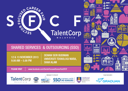 Sector Focused Career Fair by TalentCorp and UiTM 1